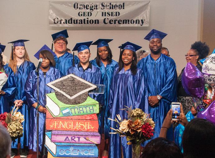 omega school ged graduation